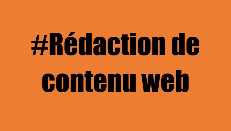 Rédaction de contenu web