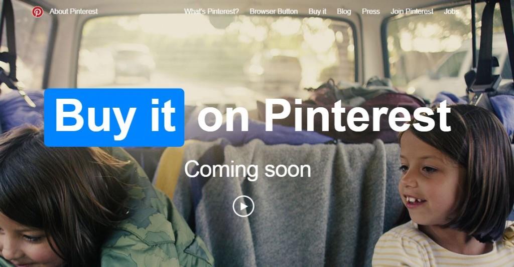 Le bouton Acheter arrive sur Pinterest